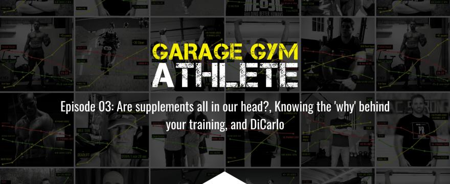garage gym, garage gym athlete, end of three fitness, supplements