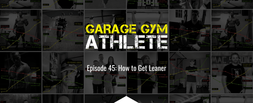 garage, garage gym, garage. gym athlete, end of three, end of three fitness, how to get lean, heavy load long distance, how to be an athlete for a lifetime