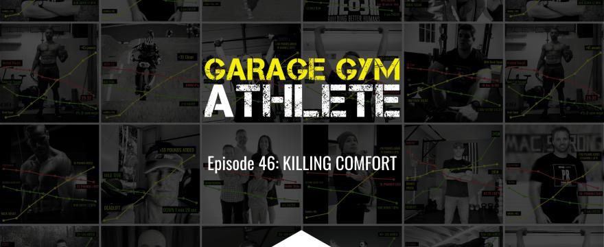 garage, garage gym, garage gym athlete, end of three, end of three fitness, killing comfort, Hormesis, MURPH