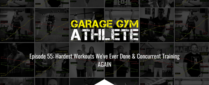 Hardest Workouts We've Ever Done & Concurrent Training AGAIN