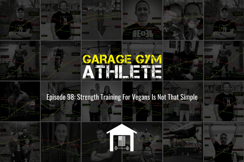 garage gym, garage gym athlete, end of three fitness, fitness, strength training for vegans is not that simple, MURPH, meet yourself Saturday