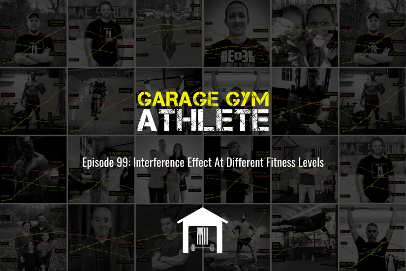 garage gym, garage gym athlete, end of three fitness, fitness, interference effect at different fitness levels, concurrent training, meet yourself Saturday, 60 minute run
