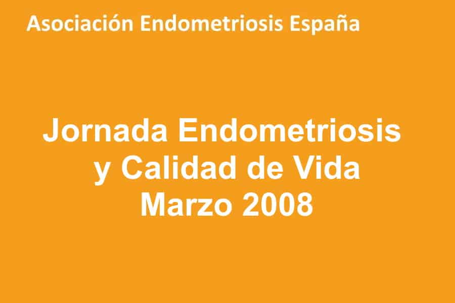 Jornada Endometriosis y Calidad de Vida. Hospital Clinic