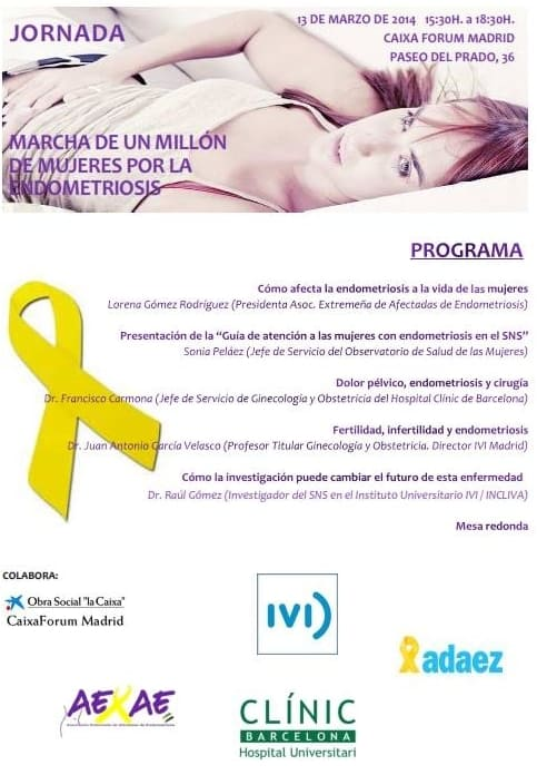 Marcha por la Endometriosis de Madrid
