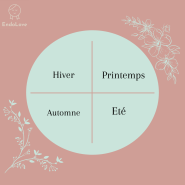 le cycle menstruel en 4 saisons