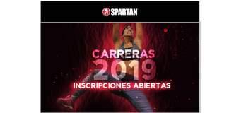Calendario Spartan Race 2019