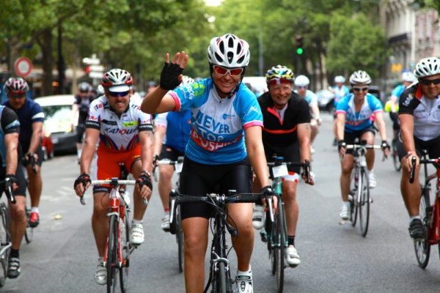 Action Medical Research - London to Paris jersey