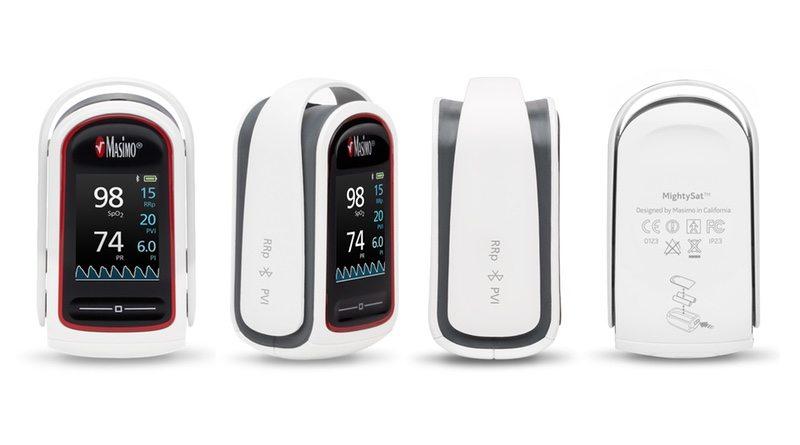 Masimo MightySat pulse oximeter - multi-view