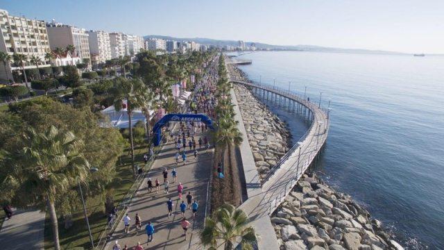 OPAP LImassol Marathon GSO runners