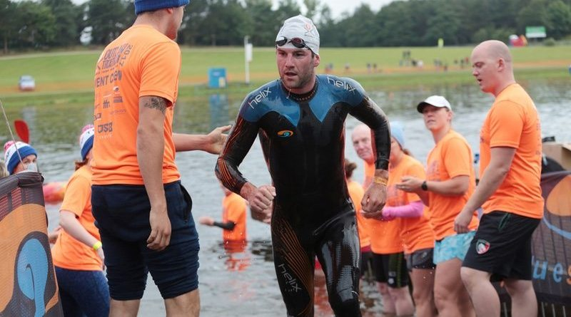 blueseventy swimmer at the Outlaw