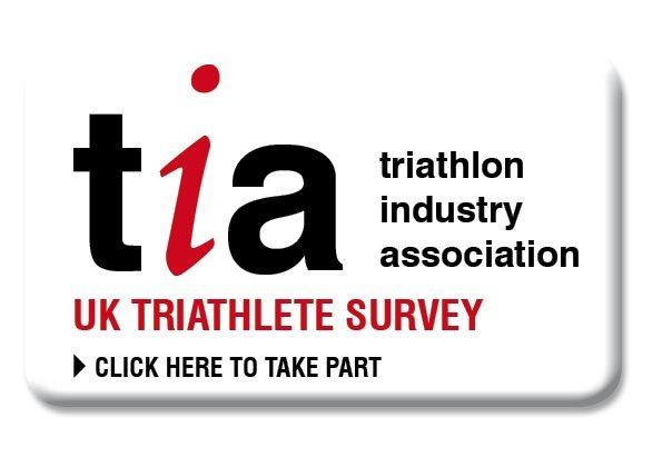 TIA UK Triathlete Survey - click here to take part button