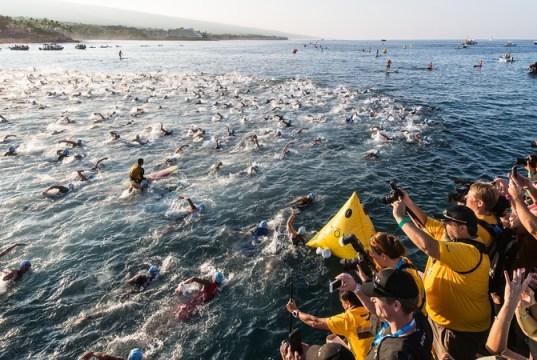 IRONMAN 40 years - swim start - photo IRONMAN