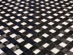 TeXtreme 45 Degrees Grid fabric