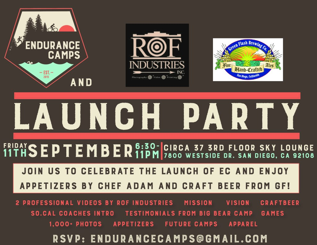 EC Launch Party Flyer