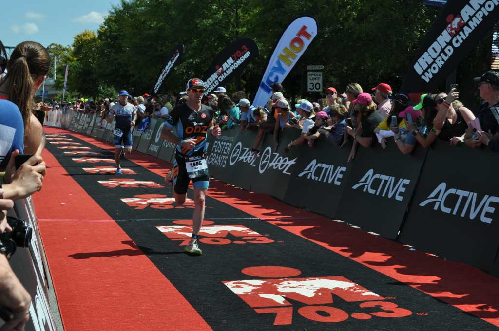 Ian Murray running IM 70.3