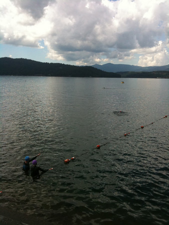 Ironman® Coeur d' Alene Swim Course