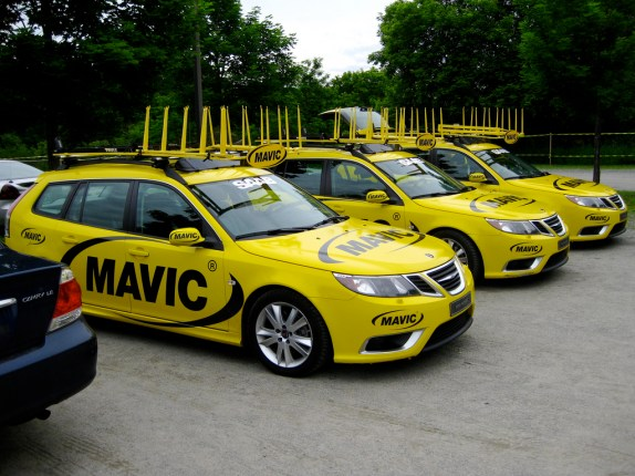Mavic support vehicles