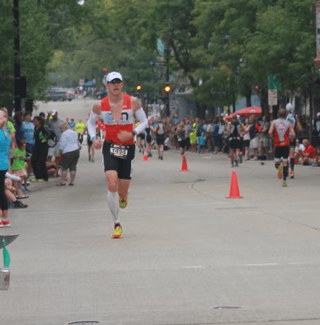 Jeremy Behler en route to a 3:27 marathon!