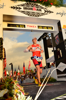 Coach Patrick at Ironman Hawaii