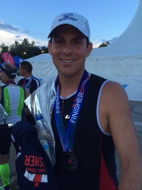 Ben Hales, Ironman Lake Placid Finisher!