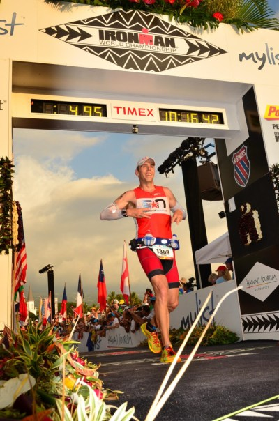 Kona 2012 Finish