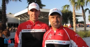 Coach Patrick McCrann and Coach Rich Strauss of Team Endurance Nation