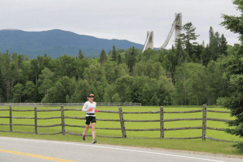 On the Run at Lake Placid