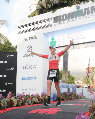 Ironman Finish Line