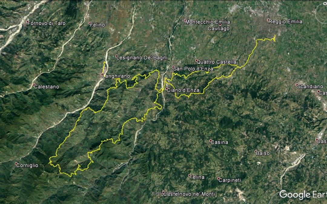 Endurata Elettrica a Langhirano, Schia e Monte Fuso