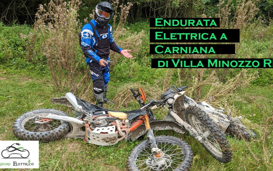 Video in Enduro Elettrico a Carniana di Villa Minozzo RE del 9/20