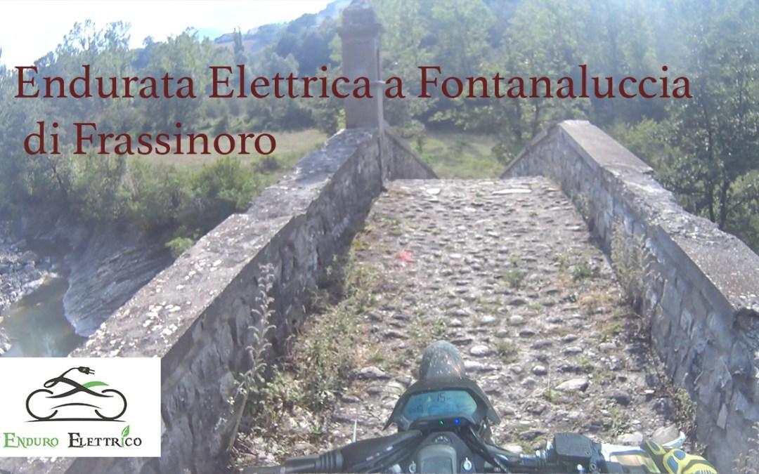Video in Enduro Elettrico a Fontanaluccia di Frassinoro del 7/19
