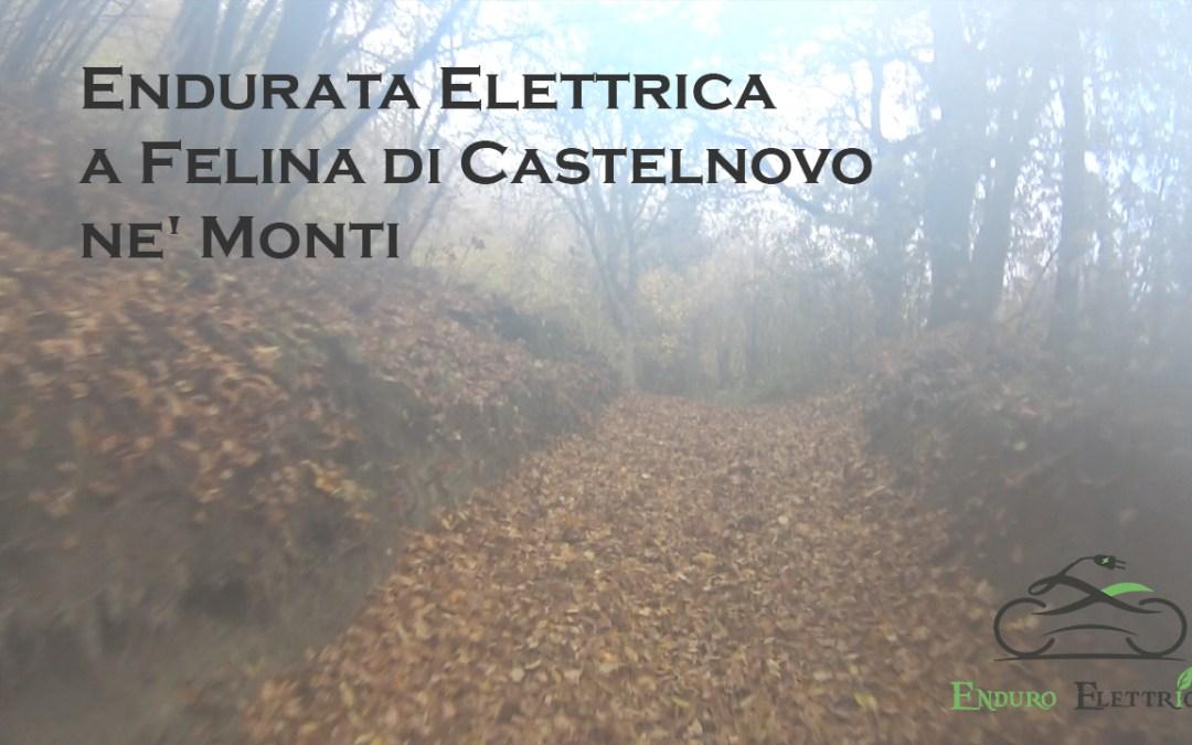 Video in Enduro Elettrico a Felina di Castelnovo ne' Monti RE del 11/20