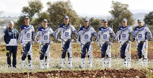 Saison 2014 : le Team officiel Bel-Ray Husqvarna Factory Racing