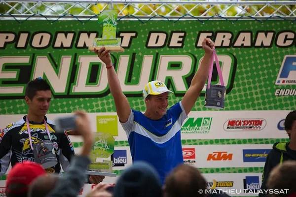 Quentin Delhaye de Maulde champion de France Espoir 2014