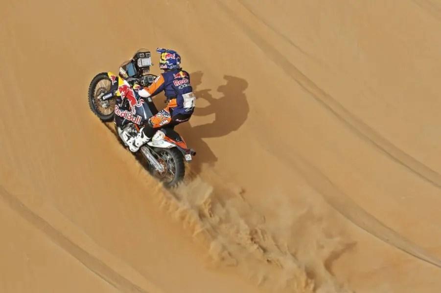 Marc Coma KTM @RallyZone Bauer/Barni
