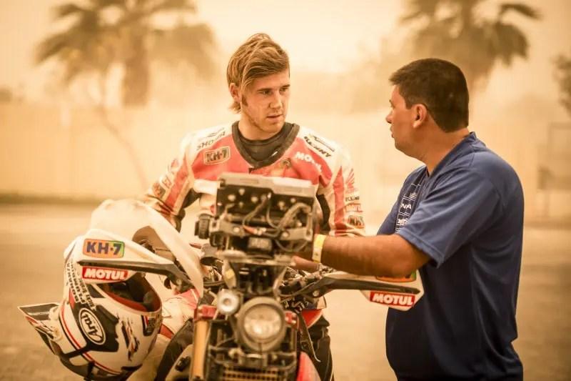 Ricky Brabec Team Honda HRC ©HRC