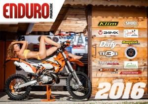 Calendrier Enduro Magazine 2016