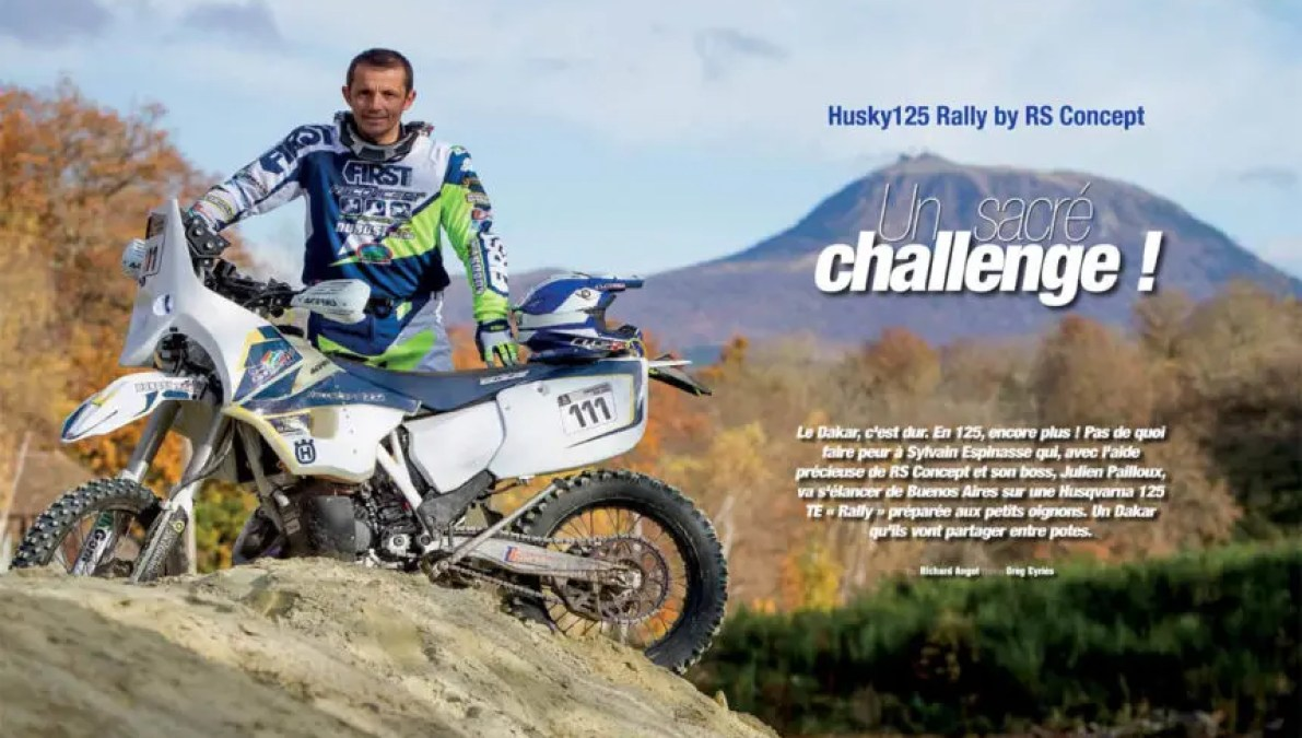 Prototype Husky125 Rally by RS Concept