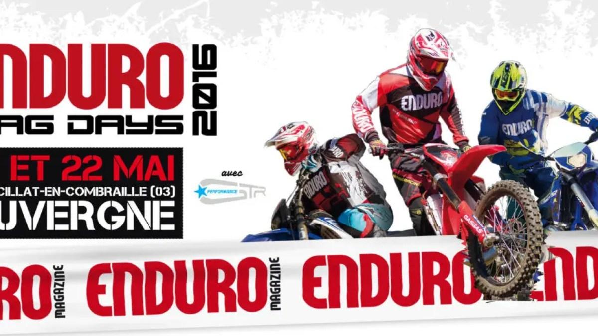 Enduromag Days 2016 : Demandez le programme !