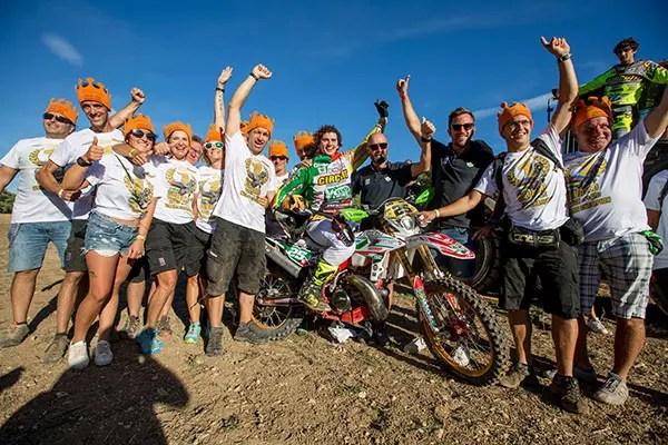 EnduroGP en France : deux nouveaux champions du monde