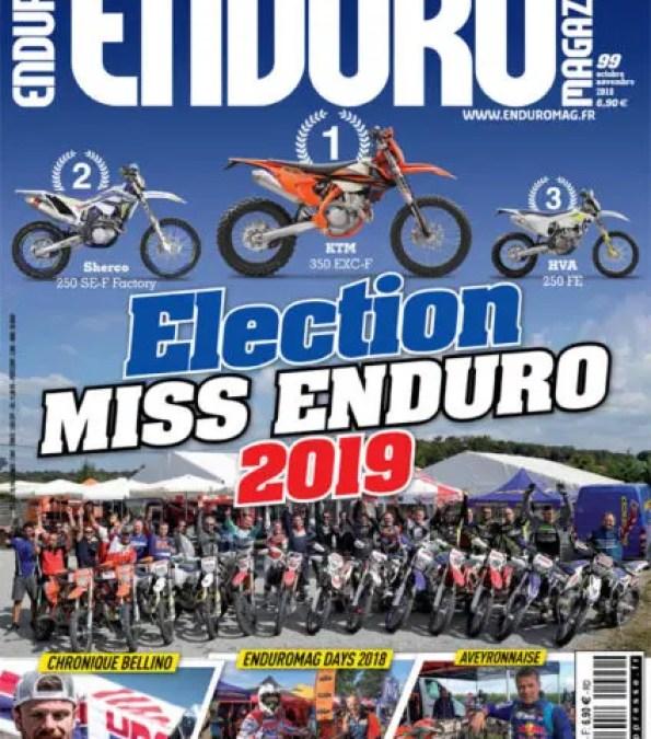 Enduromag n°99 – Spécial élection Miss Enduro 2019
