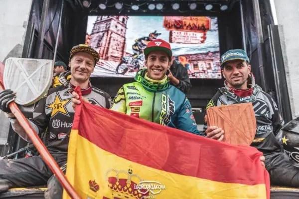 Hixpania Hard Enduro Race : Mario Roman devant Jarvis et Gomez