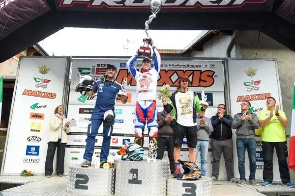 Steve Holcombe champion d'Italie
