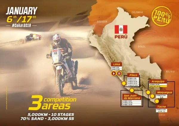 Dakar 2019 : la vidéo officielle du parcours dévoilée