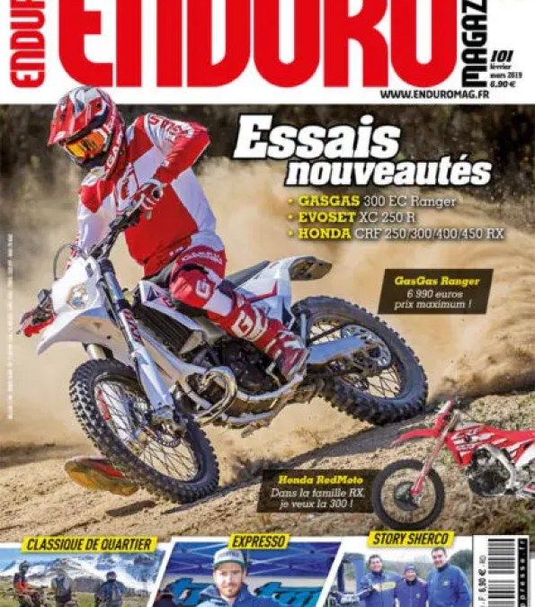 Enduro Magazine n°101 en kiosque