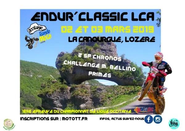 Endur'classic à La Canourgue (48) 2/3 mars 2019