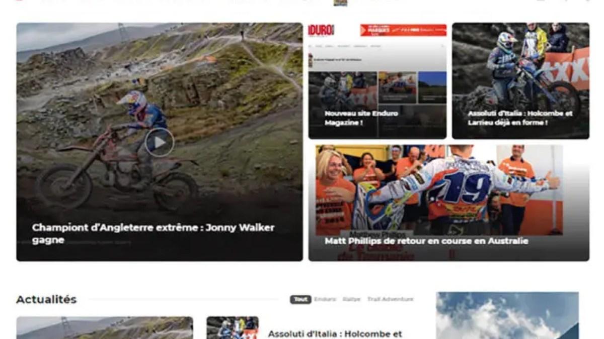 Nouveau site Enduro Magazine !
