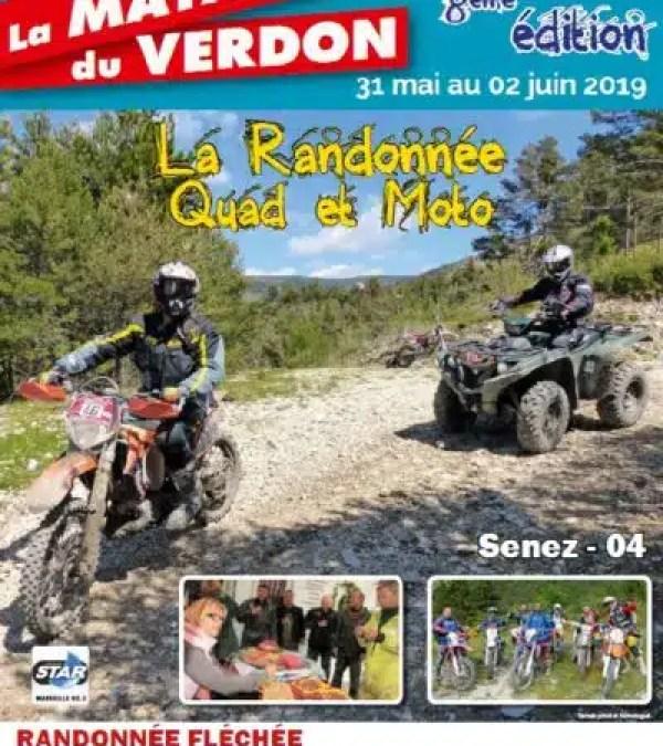 La rando quad et moto Maya Boade du Verdon, 8e édition !