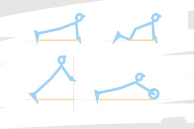 Quelque part, faire varier l'empattement avant d'un vélo, c'est comme faire des pompes en jouant des variantes de l'exercice : à l'oblique, à plat, à genou, sur la point des pieds, avec une roue abdominale...