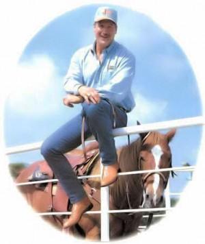 Randy nel suo ranch di Dallas